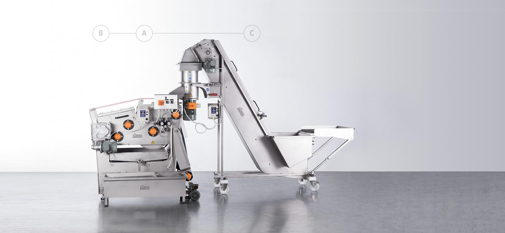 Industrial Juicer Machine Multifruit Band Press Zmf400 Zfe